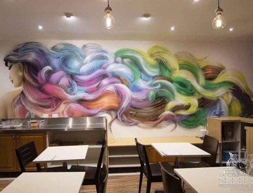 Noodle Rainbow Hair