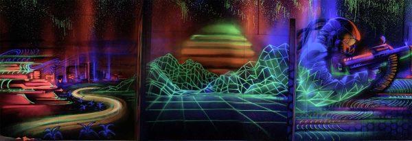 Laser Arena Interior